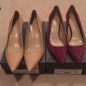 Bundle of nwt Ann Taylor pumps size 10